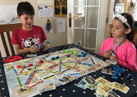 Ticket to Ride First Journey Days of Wonder board game