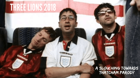 Three Lions 2018 musical parody