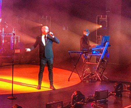 Pet Shop Boys Inner Sanctum Royal Opera House July 2018 Neil Tennant Chris Lowe When I'm 64