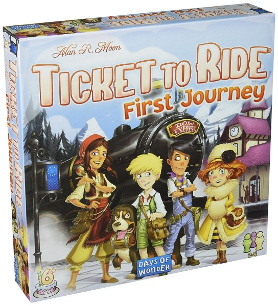 Ticket to Ride First Journey Days of Wonder board game