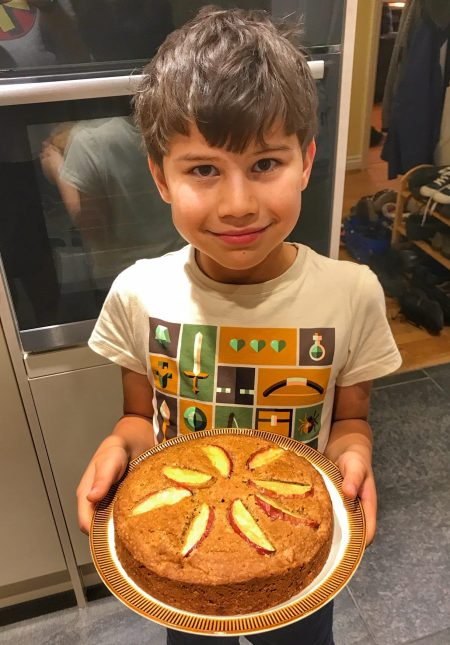 Toby baking Great Thatcham Bake Off