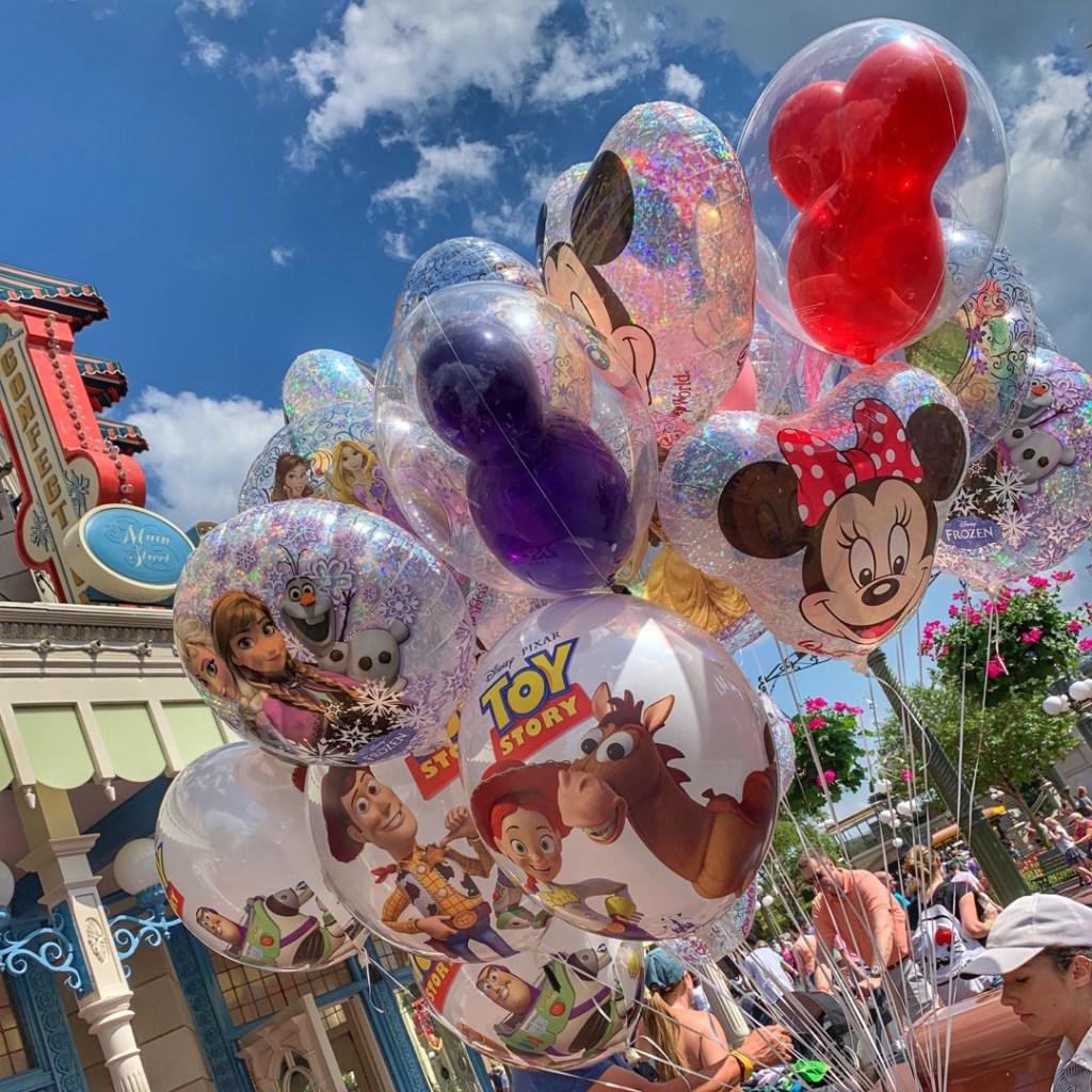 Disney World Orlando Florida balloons