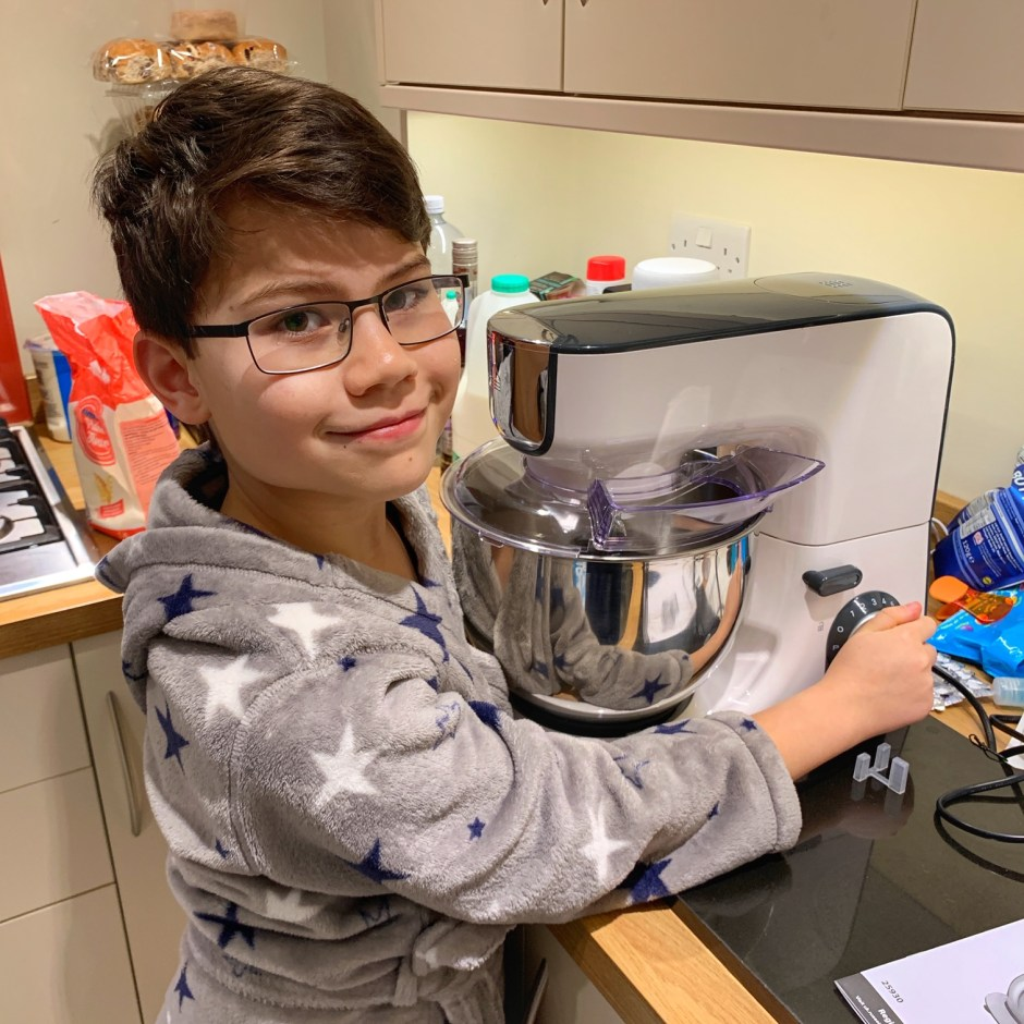 Toby's 10th birthday stand mixer
