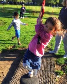 Kara rope swing