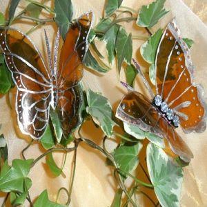 Mariposas en el interior