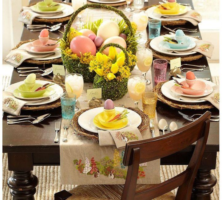 Húsvéti asztal készlete