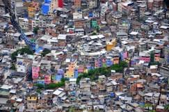 Colorful favela