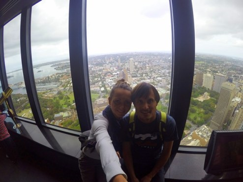 View from Sydney tower