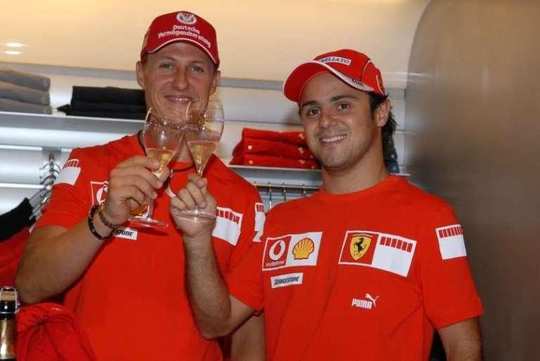Kako je s Schumacherjem ? Felipe Massa ve