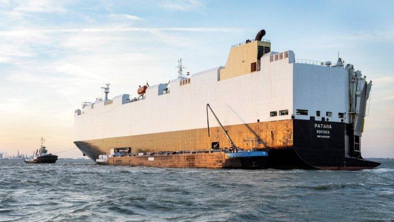 Ladijski transport novih avtomobilov - tu je rešitev za čistejše izpuste