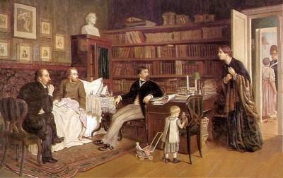 Nekrasov_and_Panaev_visiting_sick_Belinsky_1881