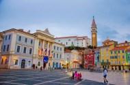 The square in Piran, Slovenia (photo by: J. Slimák)