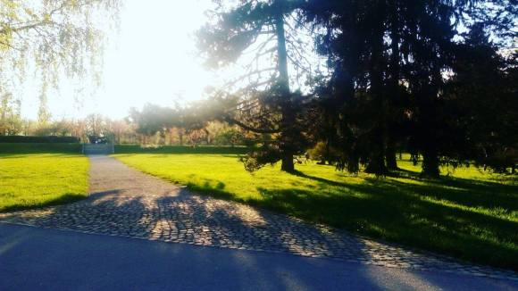 Tivoli park, Ljubljana, Slovenia photo by: R. Tomko