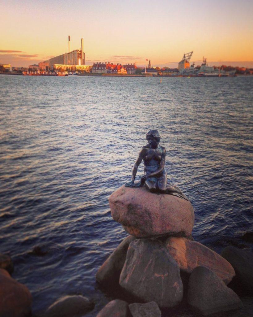 Petite Sirène Copenhague Little Mermaid Copenhagen den lille havfrue