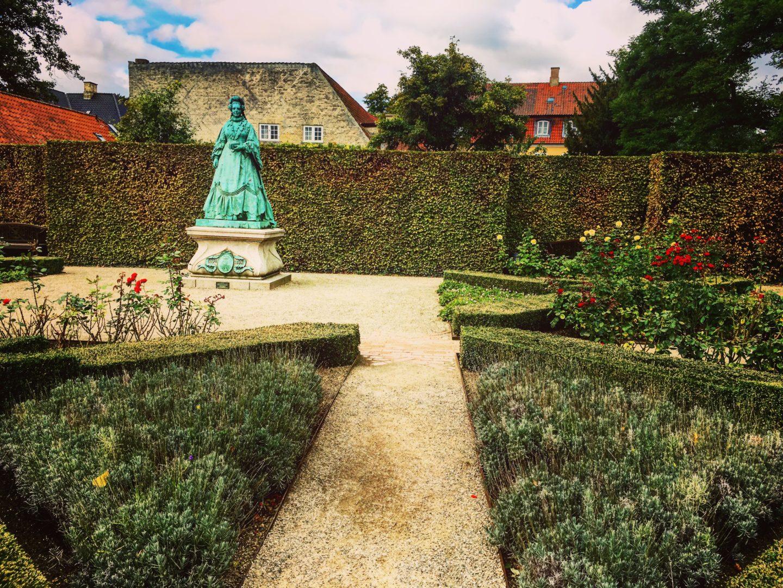 Jardin Chateau Garden Castle Statue Rosenborg Slot
