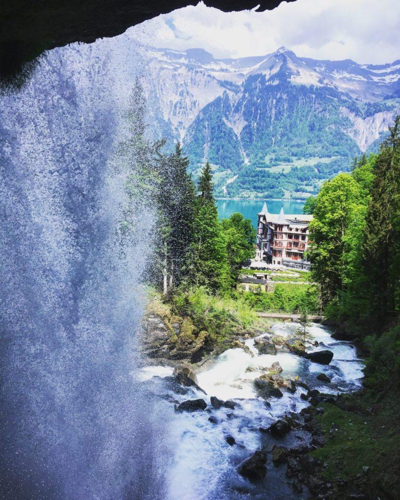 Waterfall Cascade Giessbach
