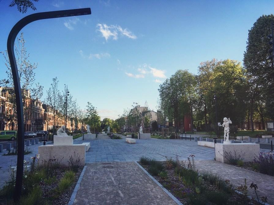 Slow Art Tour Valenciennes Boulevard Watteau