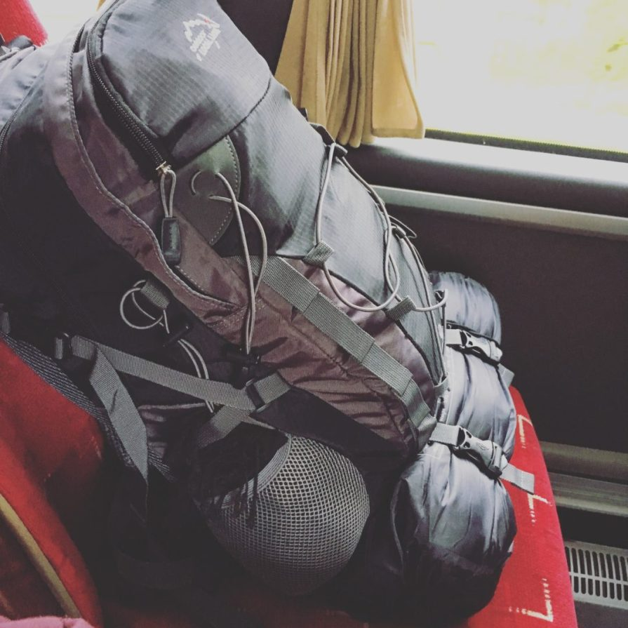 Sac Back Pack Road Trip UK Slow World