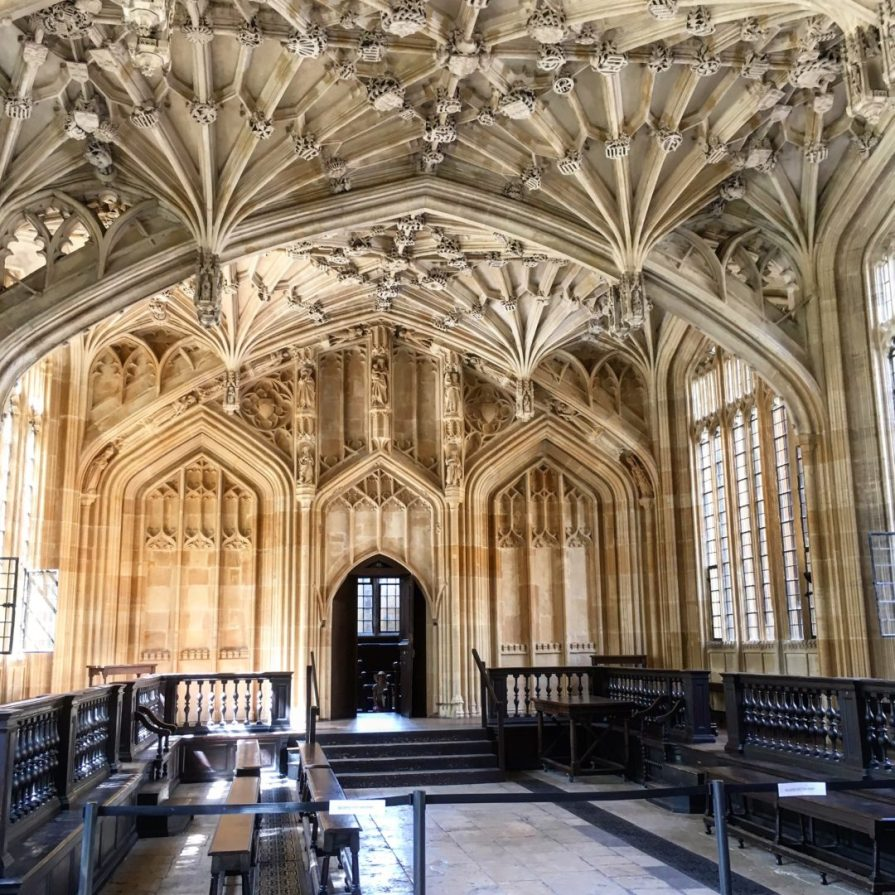 Oxford Bodleian Library Harry Potter Divinity Room Infirmerie