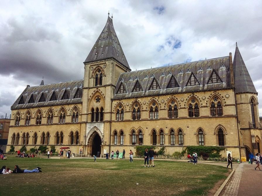 Oxford Museum National History Musée Histoires Naturelles