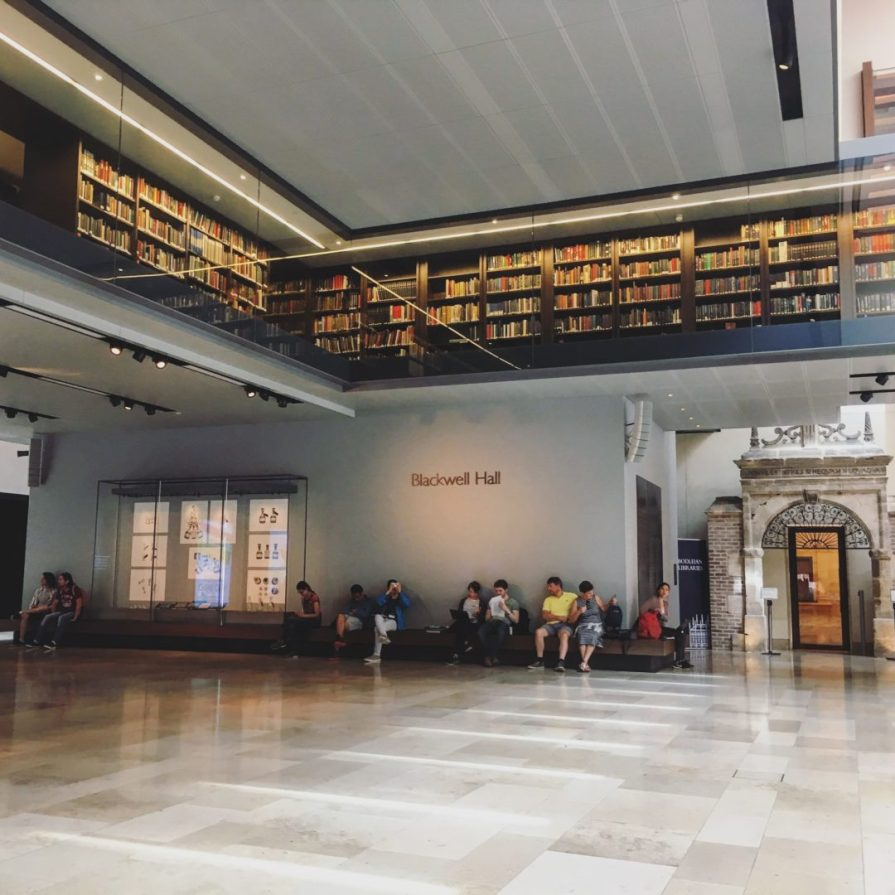 Oxford Weston Library