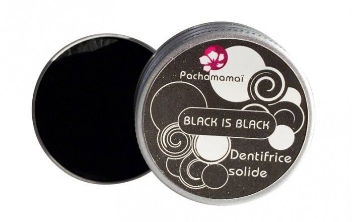 black is black dentifrice solide charbon hygiène