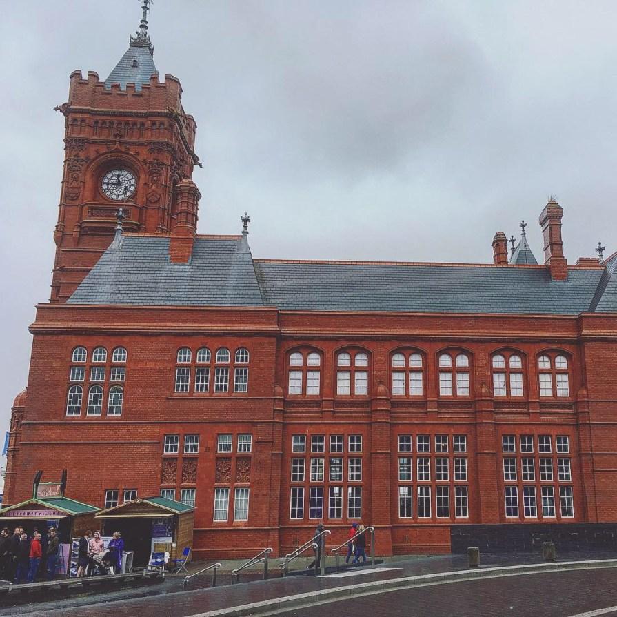Cardiff Bay Pierhead Building Pays de Galles Zoom
