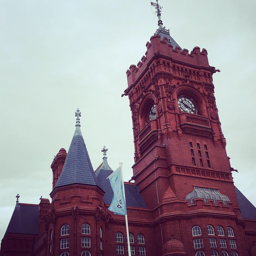 Cardiff Bay Pierhead Building Pays de Galles