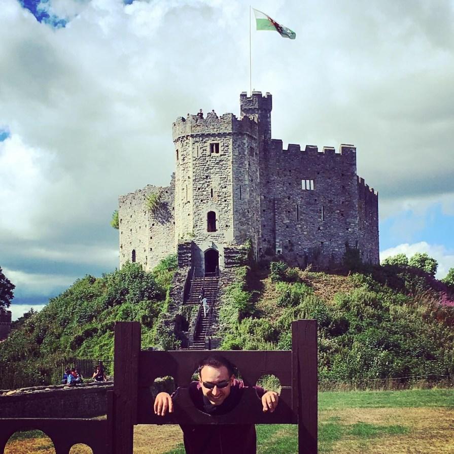 Cardiff Castle Chateau Slow World