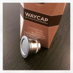 Waycap Slow World capsule reutilisable