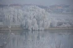 Sărutul înghețat. The frozen kiss. Foto: ©SLOWAHOLIC Dec. 2013
