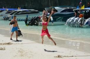 Suuuussss!!! Maya Beach, Koh Phi Phi. Photo: ©SLOWAHOLIC