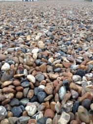 Plaja cu pietriș. Brighton, UK. Ian. 2014. Foto: ©Slowaholic