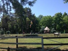 Parc de aventură Comana. Foto: ©Slowaholic