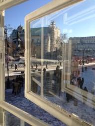 Varșovia. Ian. 2015. Coffee with a view. Foto: ©Slowaholic.