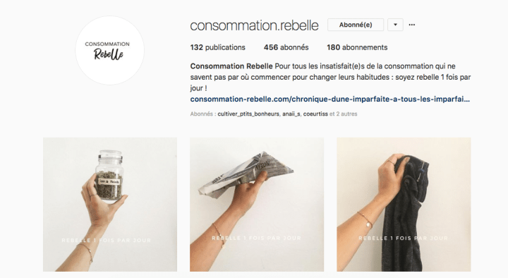 Consommation.Rebelle