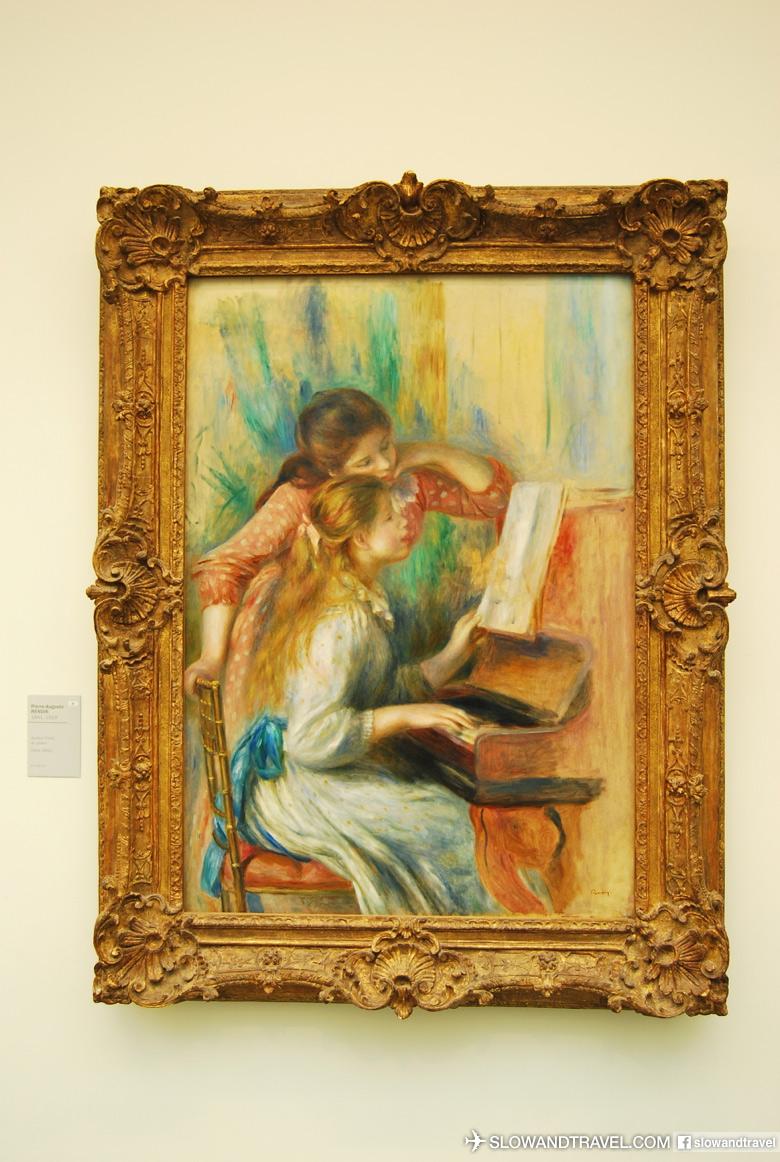 Jeunes filles au piano,Pierre-Auguste Renoir 1892