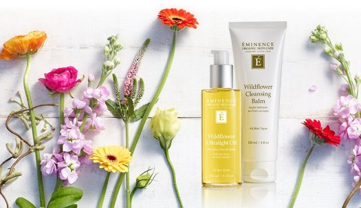 Éminence Organic Skin Care Wildflower Collection at Slow Beauty Eco Salon Canberra