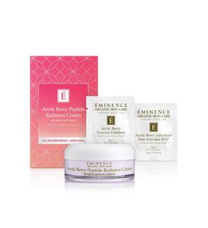 Eminence Organic Skin Care Arctic Berry Peel & Peptide Gift Set at Slow Beauty Eco Salon in Canberra