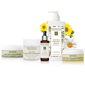 Eminence Organic Skin Care Calm Skin Collection at Slow Beauty Eco Salon in Canberra