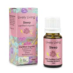 Lively Living Organic Sleep Essential Oil Blend at Slow Beauty Eco Salon in Canberra