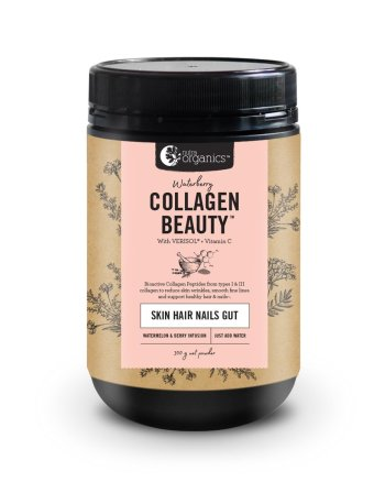 Nutra Organics Waterberry Collagen Beauty at Slow Beauty Eco Salon in Canberra