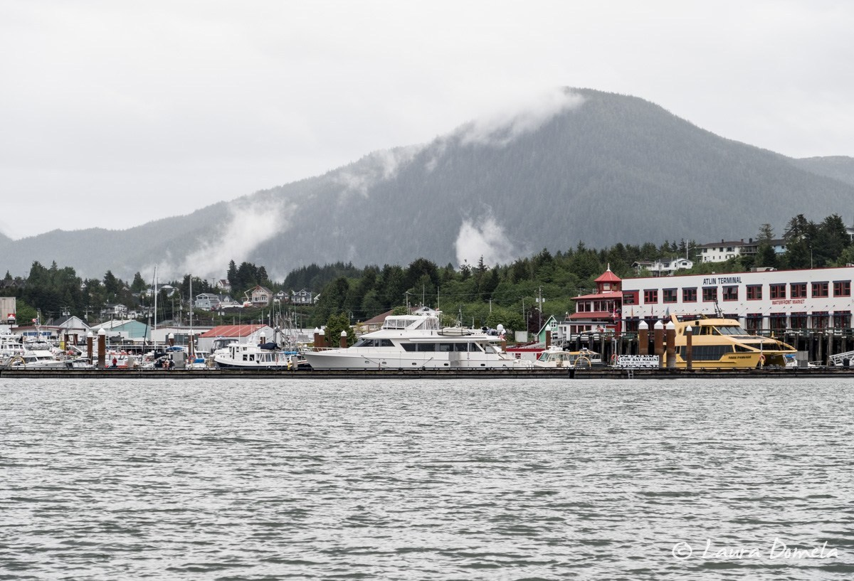 Cow Bay Marina at Atlin Terminal, Prince Rupert