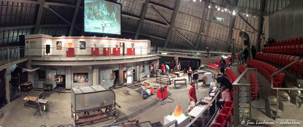 The hot shop is huge!