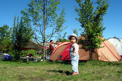 2003/8/9 空、2歳の夏。 Sweet Grassにて。