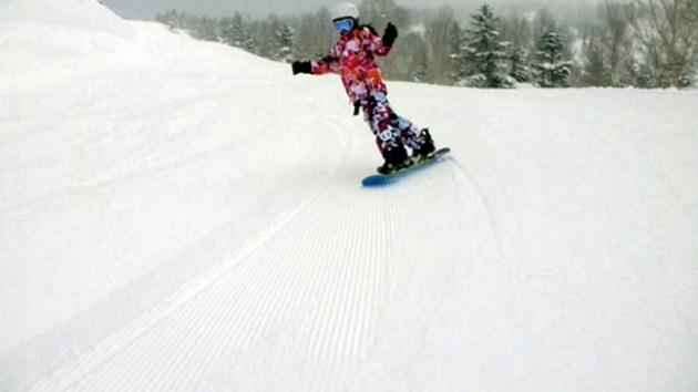 焼額山スキー場 パノラマコース