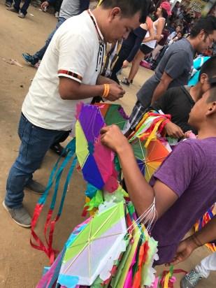 kites handmade small ones