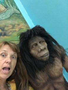 museum caveman