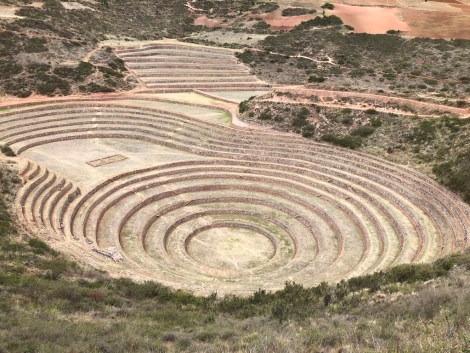 moray agriculture ruins.