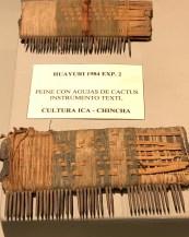 museum nazca cactus comb